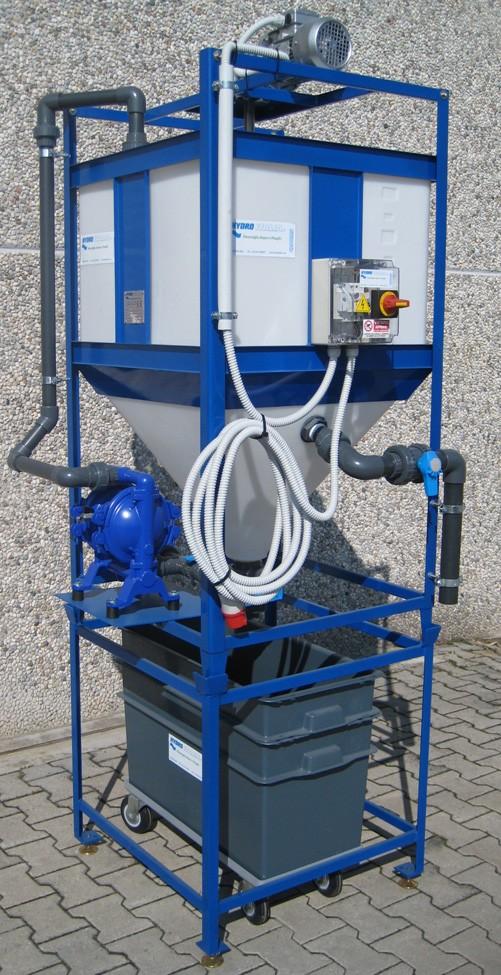 Trattamento a batch: sistemi Hydro Italia