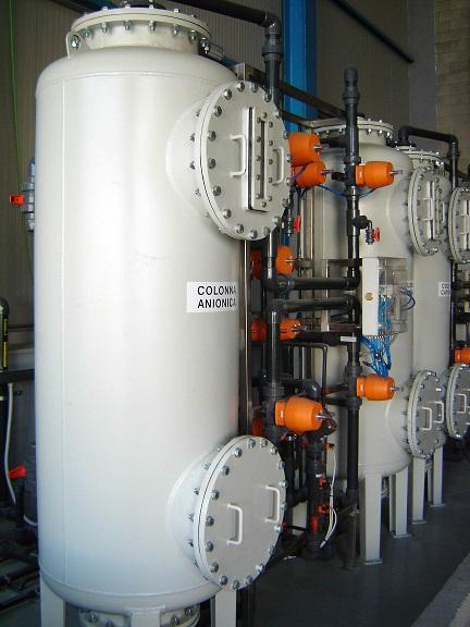 Impianto di demineralizzazione